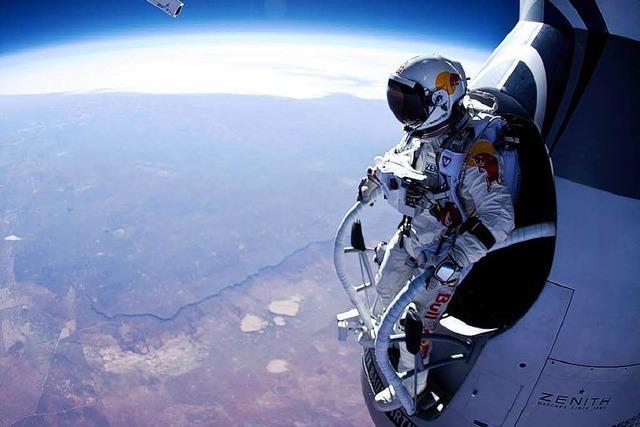 Extremsportler will aus 36.000 Metern Höhe abspringen