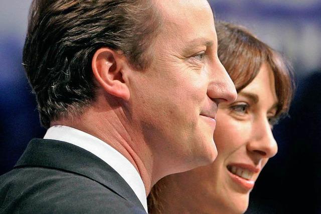 David Cameron vergisst achtjährige Tochter im Pub