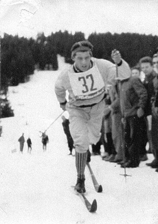 Josef Maier in seiner aktiven Zeit.  | Foto: Privat