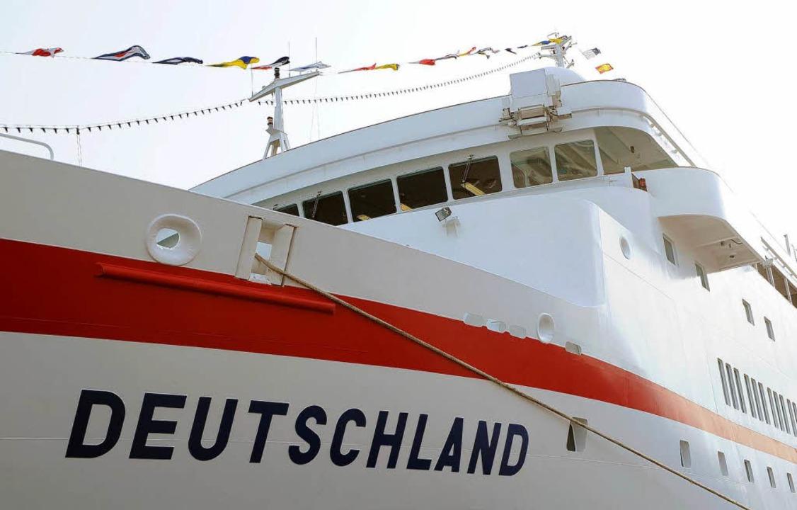 Der Bundesregierung gefällt gar nicht,...eutscher Flagge über die Meere kreuzt.    Foto: dpa