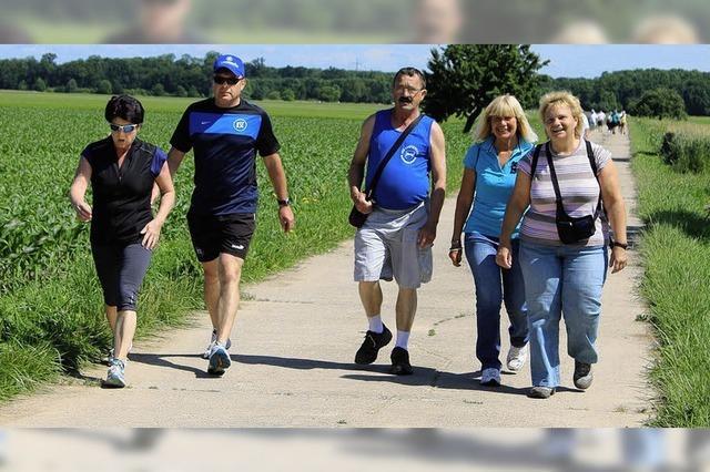 Die Wanderer sind wie eine große Familie