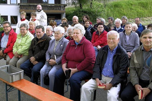 Rund 80 Besucher beim Patrozinium in Hürrlingen