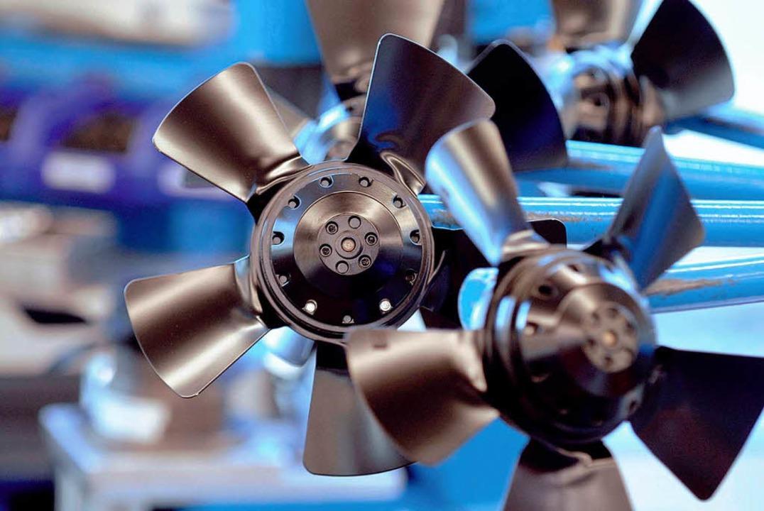Macht Wind:  Ventilator von EBM-Papst.   | Foto: EBM-Papst