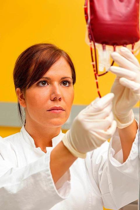 Lebensretter Blutkonserve  | Foto: Gina Sanders - Fotolia