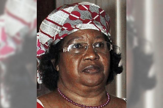 Malawis mutige Präsidentin