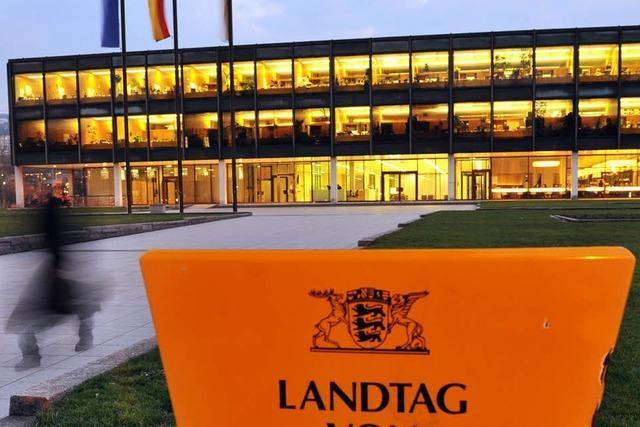 Der Landtag will nicht ins Neue Schloss