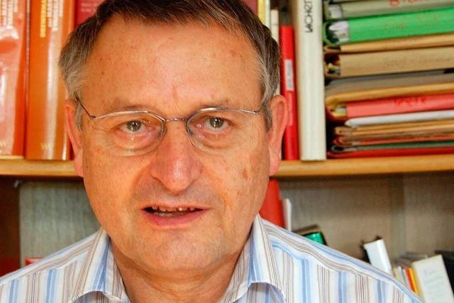 Pfarrer Bernhard Pfaff: