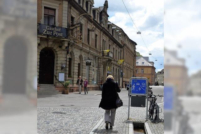 Bahnhofstraße soll noch 2012 umgebaut werden