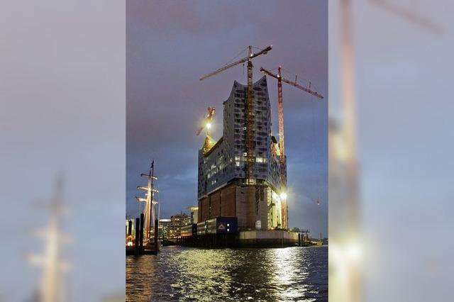 Hamburg: Bummeln auf der Baustelle