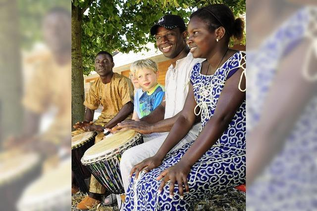 Trommeln für Afrika