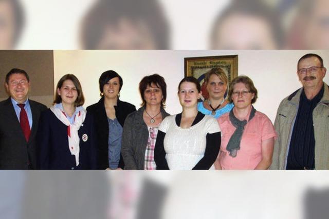 Gemeinde Ringsheim ehrt Blutspender
