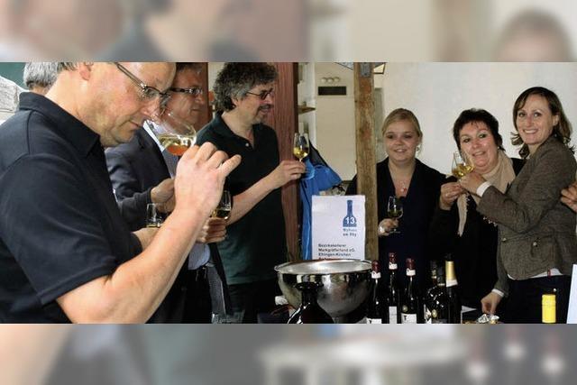 Deutsche Weine zu kosten