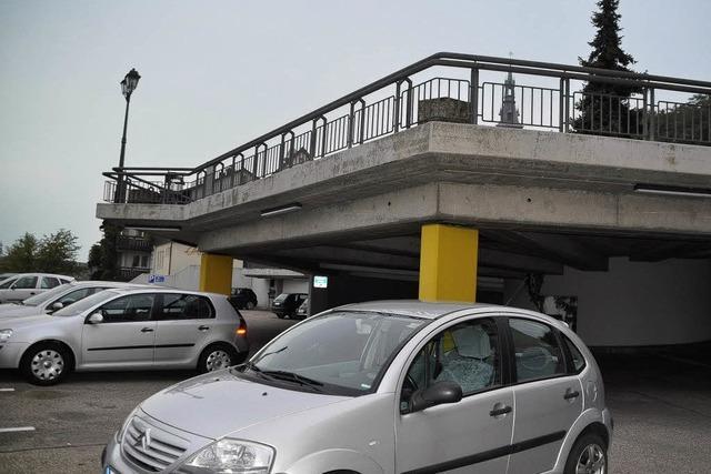 Parkhaus wird integriert