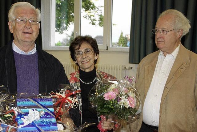 Stadtseniorenrat verabschiedet Bernhard Gerstle