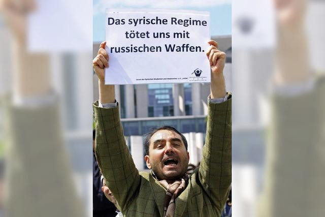 UNO sieht Syrien im Bürgerkrieg
