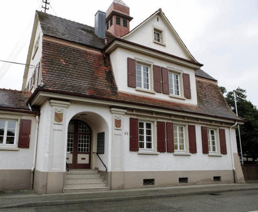 Der kleinste Ort von Schwanau, Wittenw...uf dem Bild ist das Rathaus zu sehen.   | Foto: Chr. Breithaupt