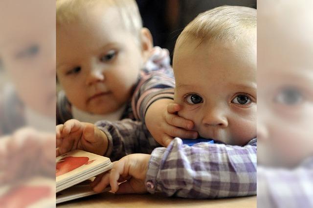 Nachfrage nach Kleinkind-Betreuungsplätzen steigt