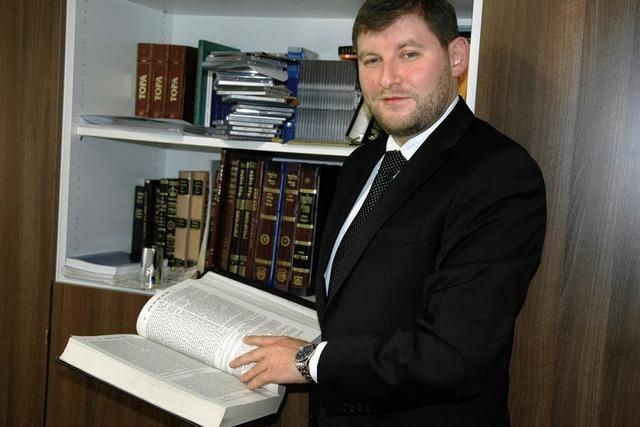 Moshe Flomenman ist der neue Landesrabbiner