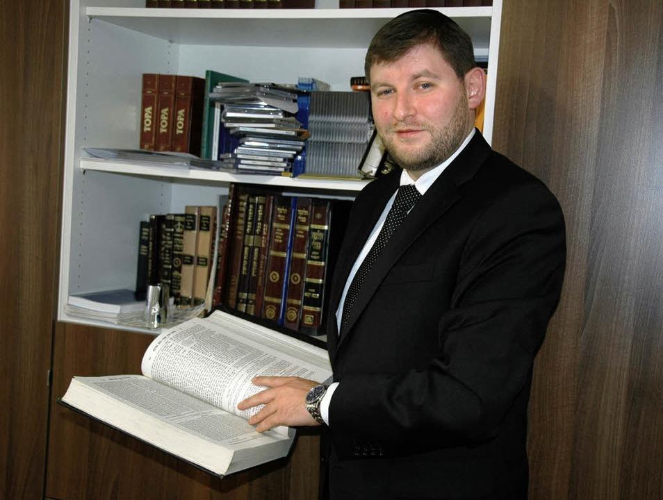Rabbiner Moshe Flomenmann   | Foto: Nikolaus Trenz