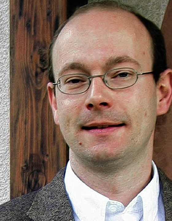 Pfarrer Mahler, verantwortlicher Vakan...en und Märkt, bedauert Liskes Weggang.  | Foto: Jutta Schütz