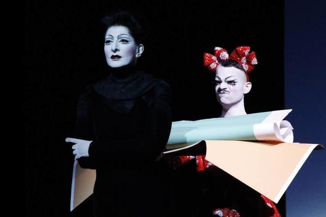 "Robert Wilson inszeniert ""The Life and Death of Marina Abramovic"" in Basel"
