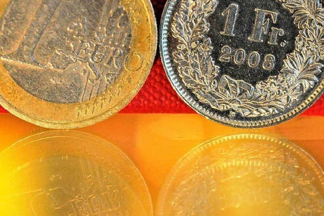 Schweizer Zentralbank stemmt sich gegen Franken-Aufwertung