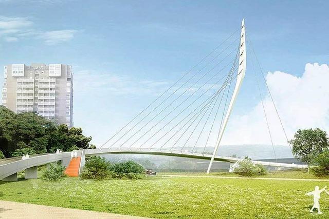 279 Meter lange Hängebrücke wird Aushängeschild der Gartenschau