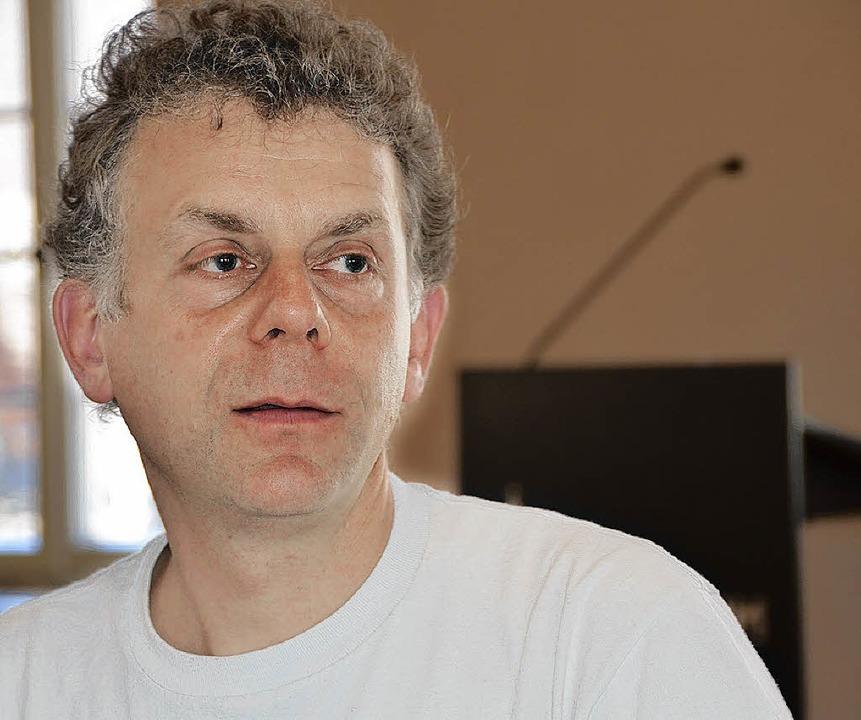 Stefan Buri, Gründer des Schweizer Ensembles.   | Foto: K. Fischer