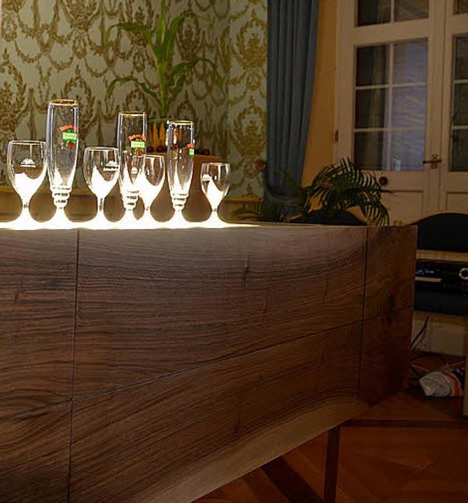 Der Sound und das Licht dieses Sideboards interessierten alle.  | Foto: Babeck-Reinsch