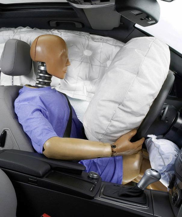 Finanziell gut gepolstert ist der Airbag-Hersteller GST.   | Foto: DPA