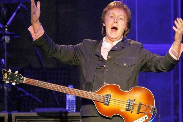 McCartney und Brian Wilson: Ganz Große des Pop
