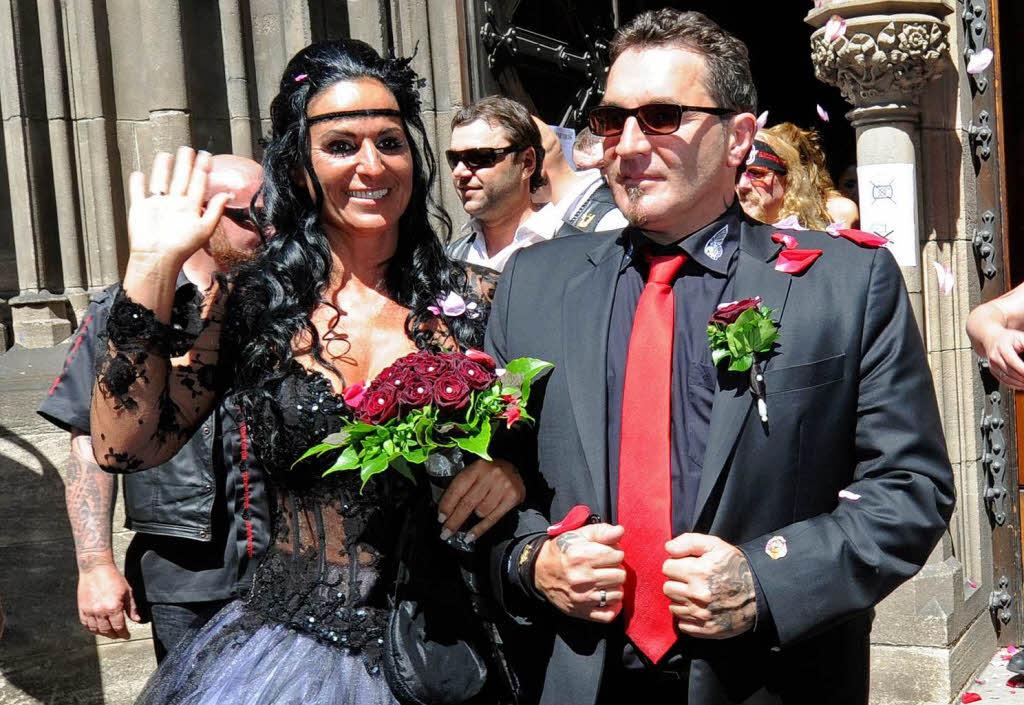 Hells-Angels-Präsident heiratet in evangelischer Kirche