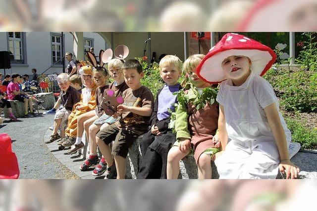 Musikschule Oberes Wiesental führte ihr Musical vom Zauberstein auf