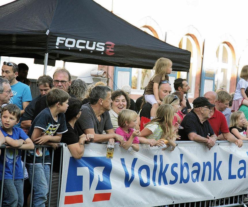 Radsport begeisterte die  Kippenheimer.    Foto: Sandra Decoux-Kone