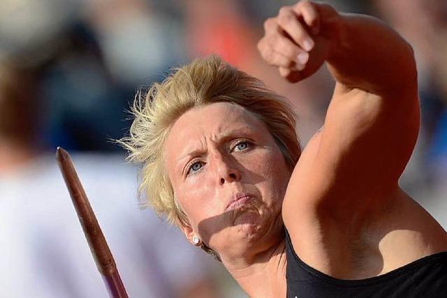 Obergföll ist deutsche Meisterin und beweist Medaillenform