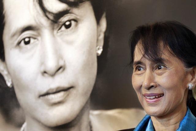 Aung San Suu Kyi - verspätete Dankesrede