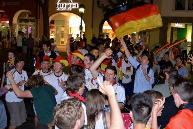 Portugiesen und Deutsche feiern gemeinsam