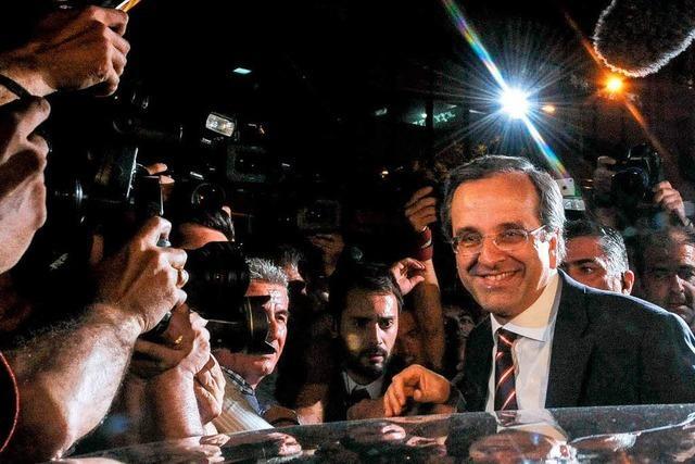 Sieg für Sparkurs in Athen und für Wachstumspolitik in Paris