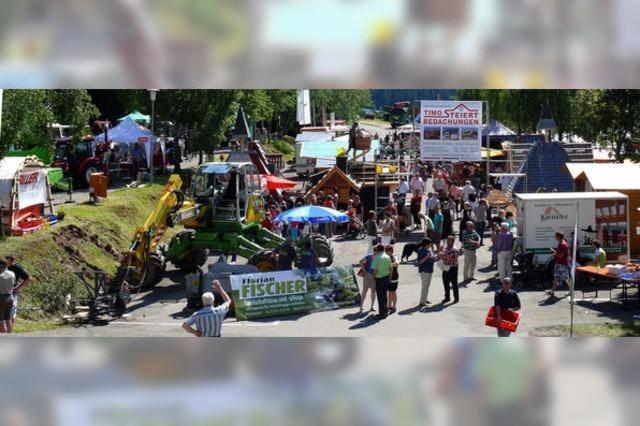 Tausende Besucher bei den Hochschwarzwälder Holztagen in Schluchsee