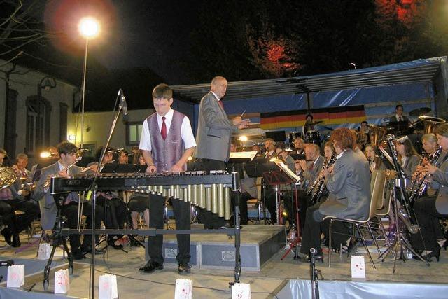 Open-Air-Konzert der Stadtkapelle Kenzingen: Tempo ist Trumpf
