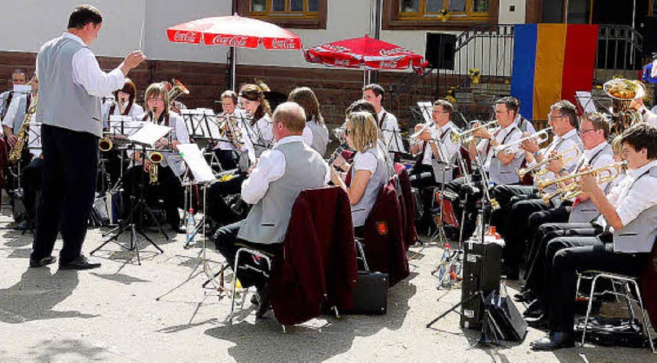 Die Musikkapelle Kollnau freut sich aufs Musikfest am Wochenende.   | Foto: Archivfoto: Eberhard Weiss