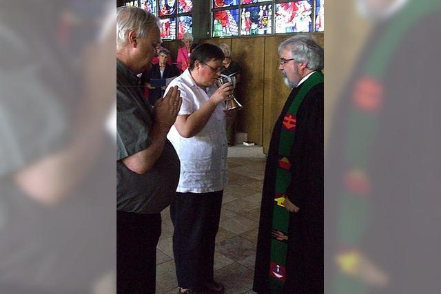 Willkommen für den neuen Pfarrer