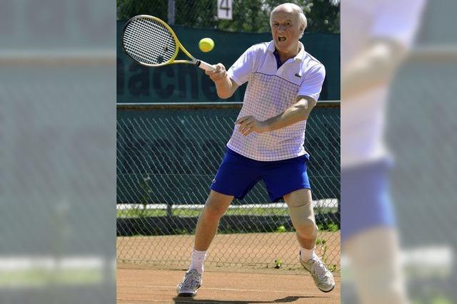 SV Schopfheim mischt Tennis-Badenliga der Männer 55 auf