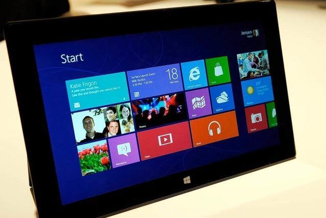 Microsoft greift Apple mit eigenen Tablet-Computern an