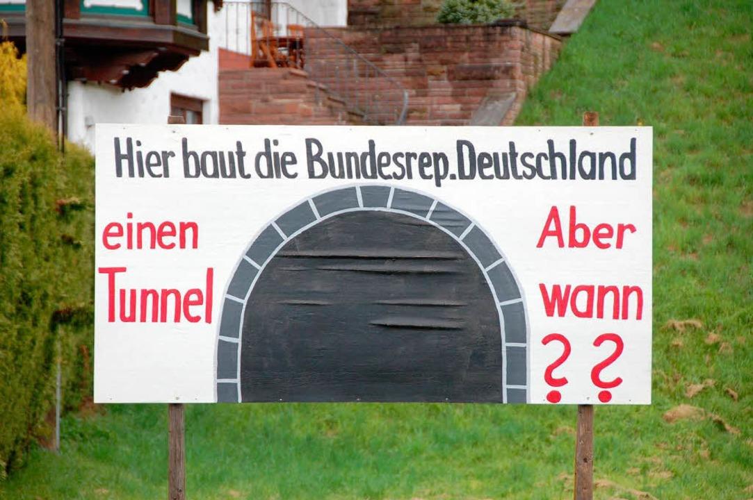 Nicht vor 2015, lautet die Antwort für Winden aus Stuttgart.  | Foto: Elfriede Mosmann