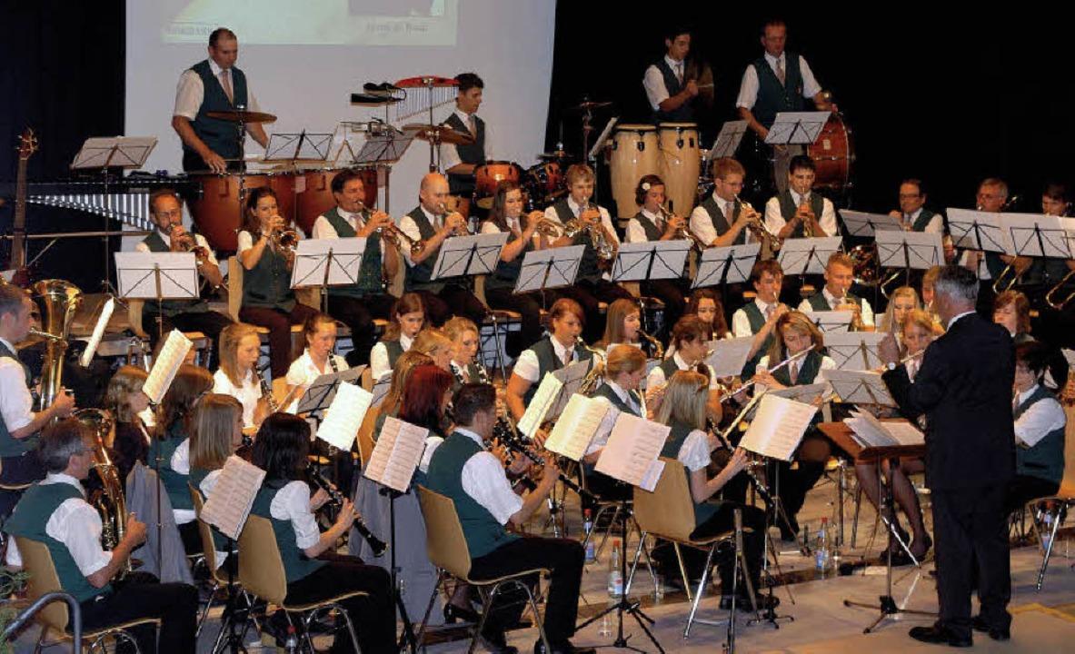 Wunschkonzert einmal anders: Zum erste...von den Musikern selbst vorgeschlagen.  | Foto: Jürgen Schweizer