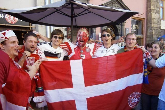 So haben fünf Freiburger Studenten das deutsche Spiel in Lviv erlebt