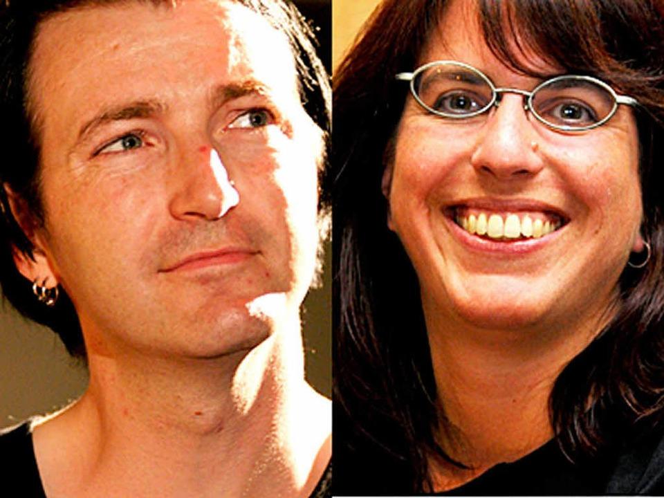 Die GAF-Stadträte Coinneach McCabe und... bisherige Weggefährtin Tina Gröbmayr.  | Foto: Thomas Kunz/privat