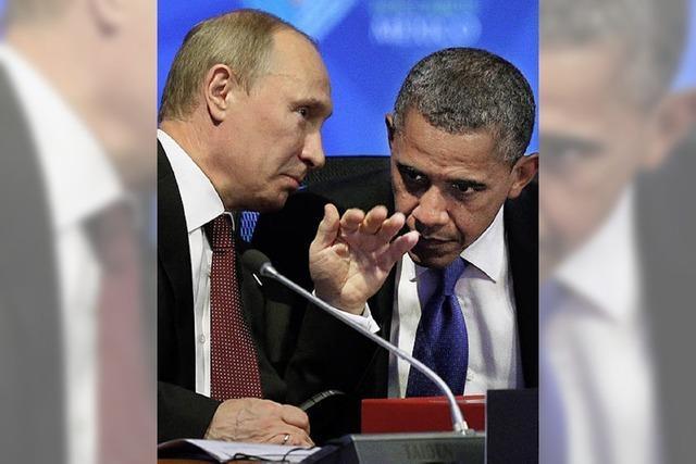 Vorsichtige Annäherung zwischen Putin und Obama