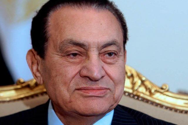 Herzanfall: Mubarak ringt mit dem Tod